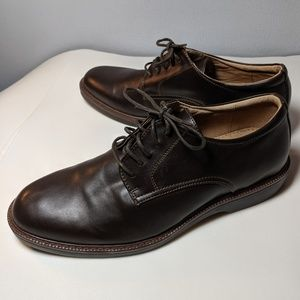 Dexter Brown Leather Oxford  Lace Up Size 11 M